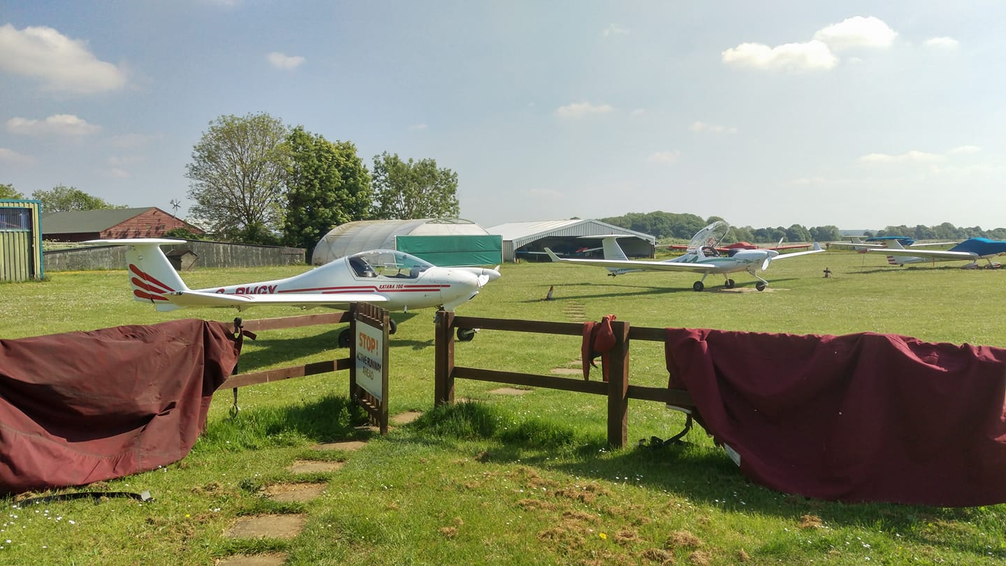 Enstone Airfield Hangarage and Tie-downs