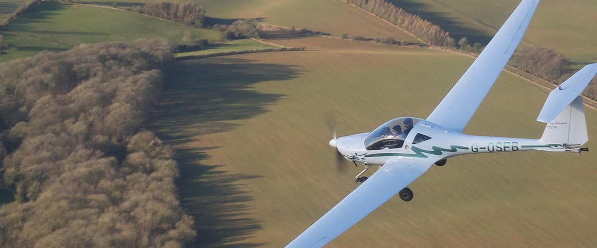 Motorgliding Over Oxfordshire
